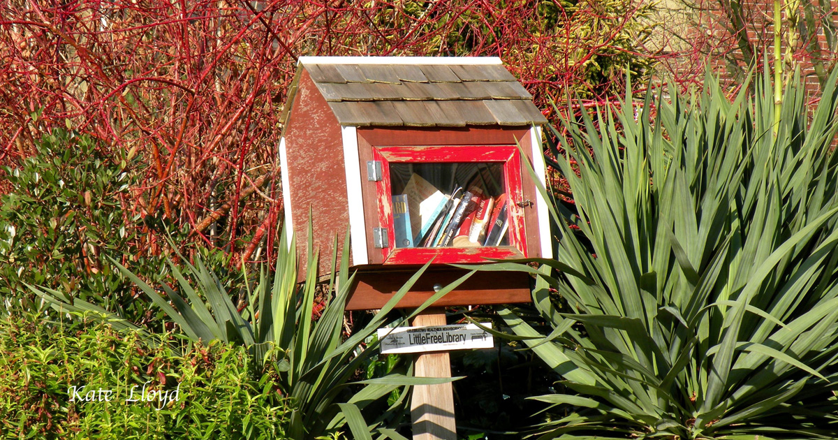 I'll have to return to this lending library for a look!