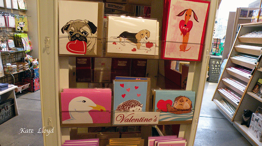 If you exchange cards, it pays to shop early. Or make one!
