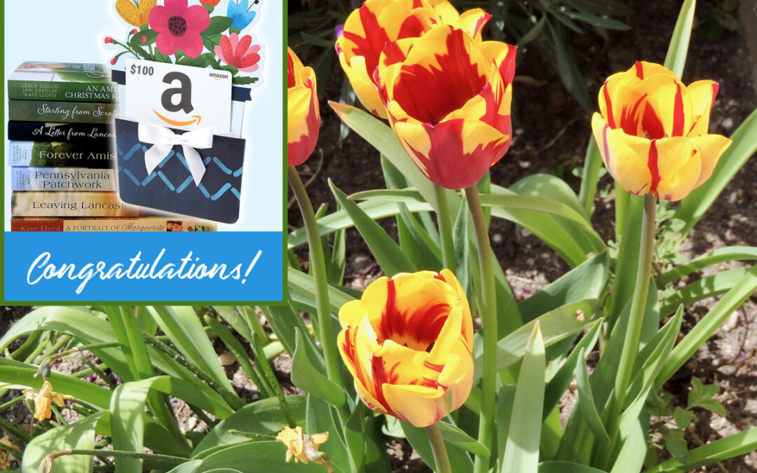 May $100 Gift Card Winner and Kate's Favorite Pics!