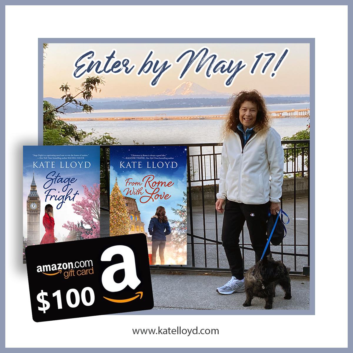 Enter Kate Lloyd's April 2021 Giveaway
