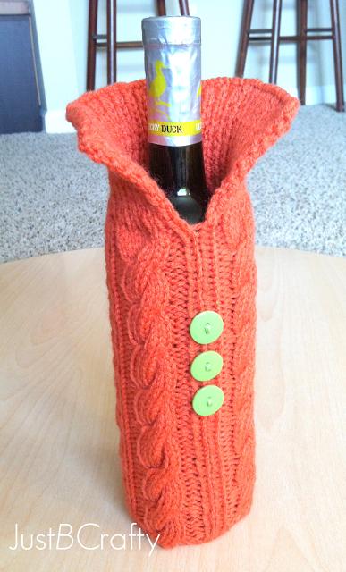 Wine Bottle Sweater Pattern