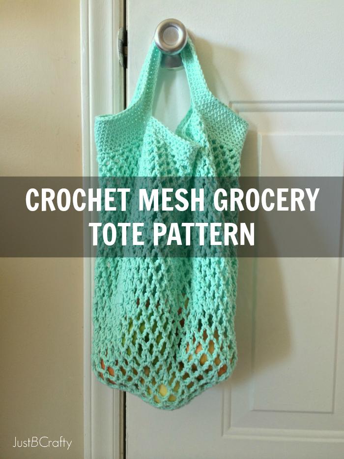 Crochet market tote pattern