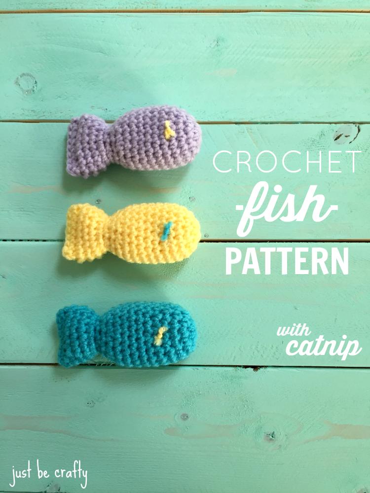 crochet fish pattern