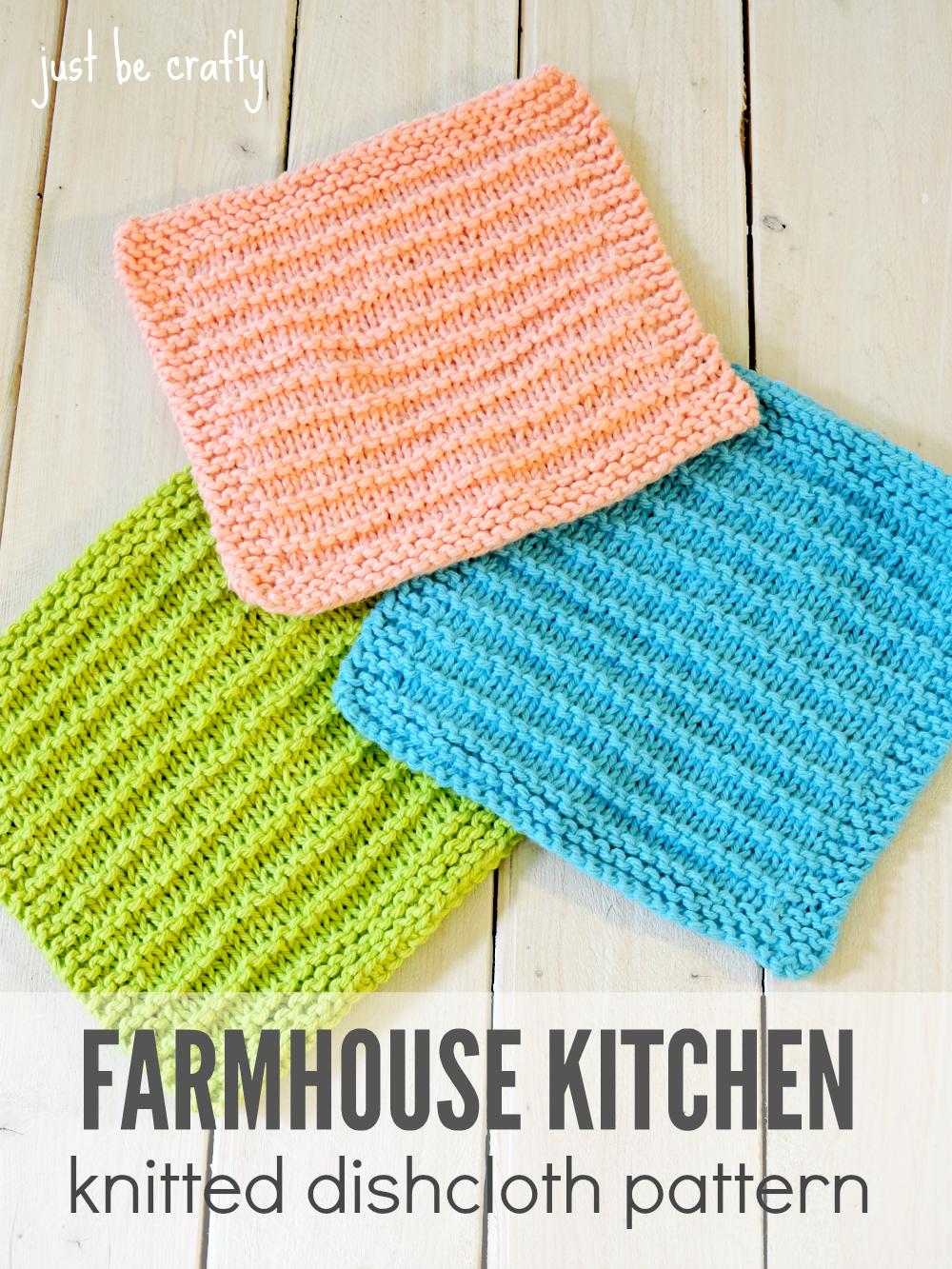 Farmhouse Dishcloth pattern