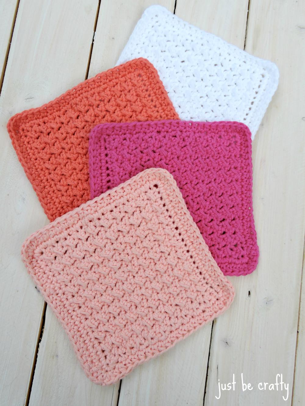 Cabin Crochet Dishcloth