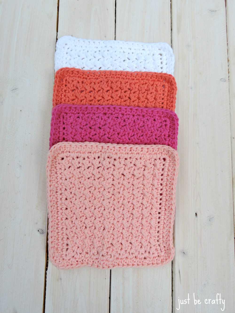 Crochet Cabin Dishcloth Pattern
