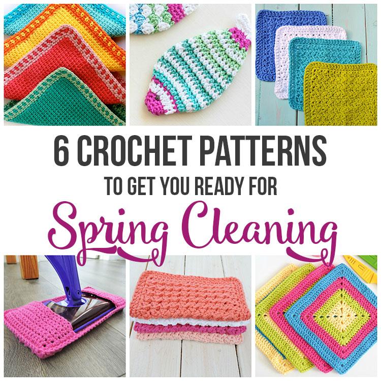 Crochet Dishcloth Pattern Round-up