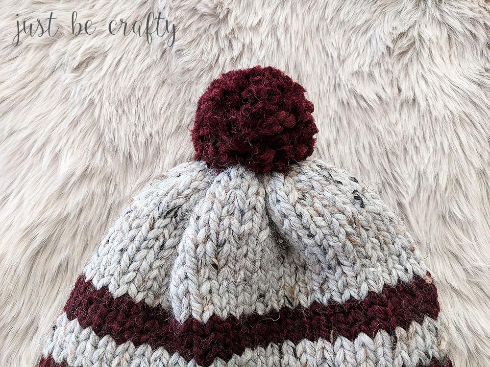 Lake Erie Chunky Ski Hat Pattern