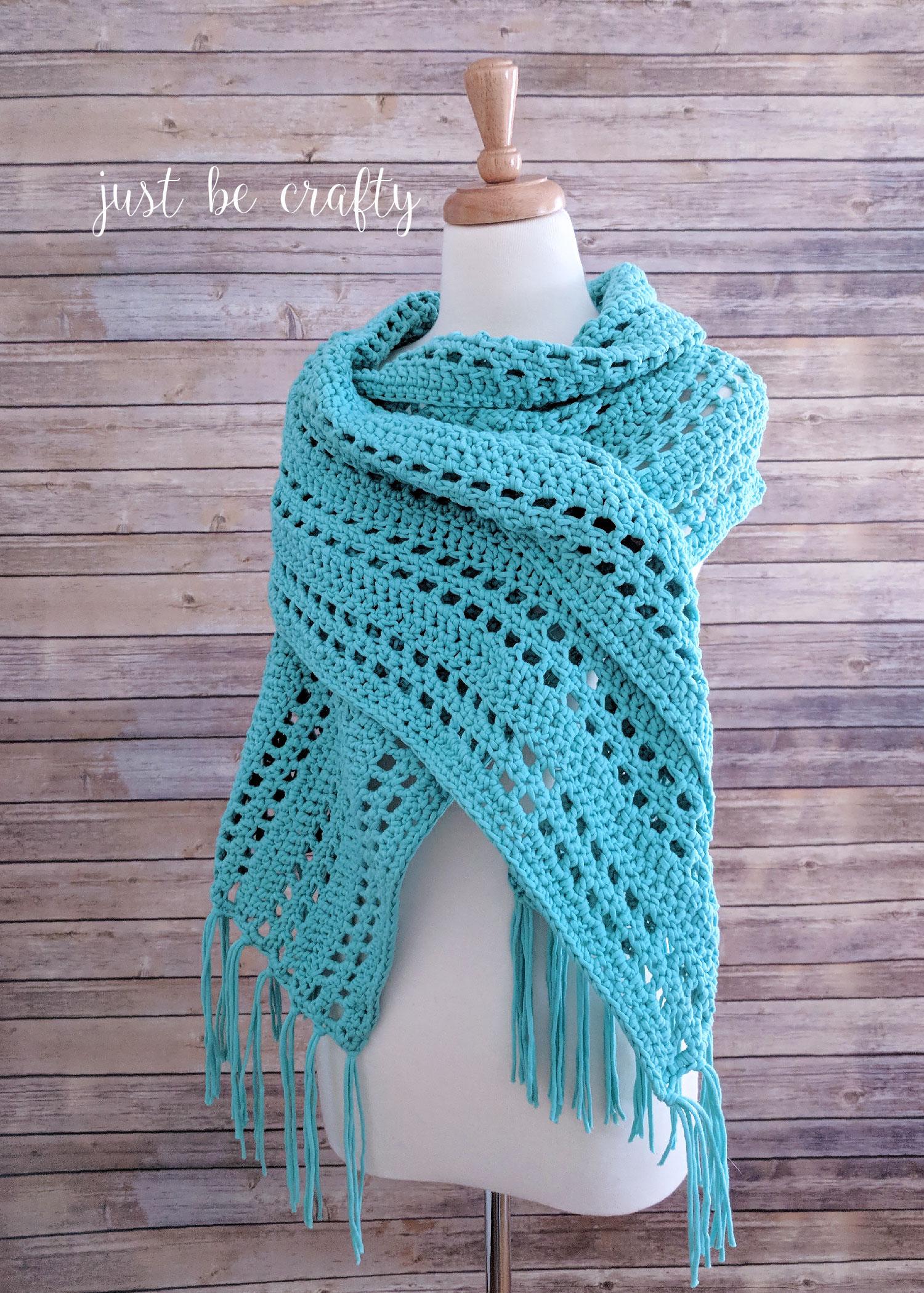 Sunset Beach Wrap | Free Crochet Pattern