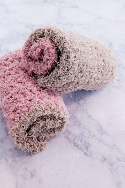 Crochet Color Exfoliating Washcloth Pattern