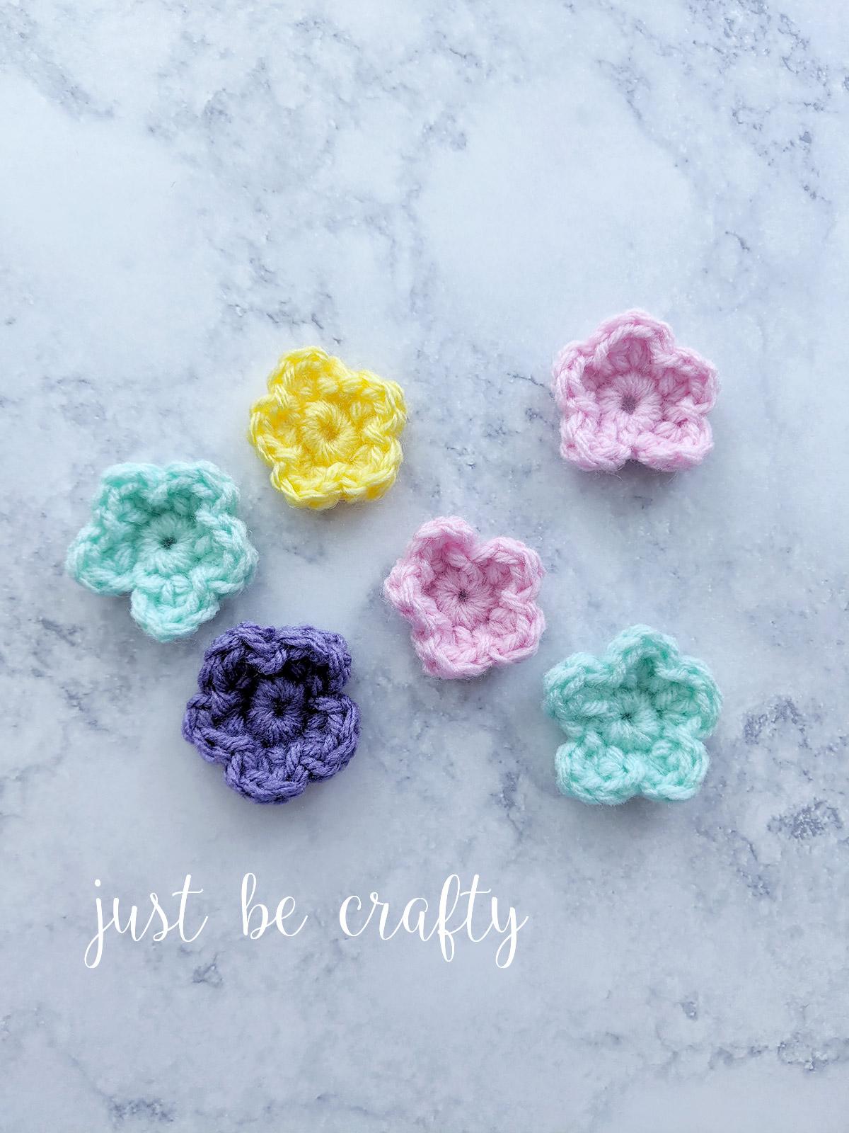 Crochet Wild Flower Pattern