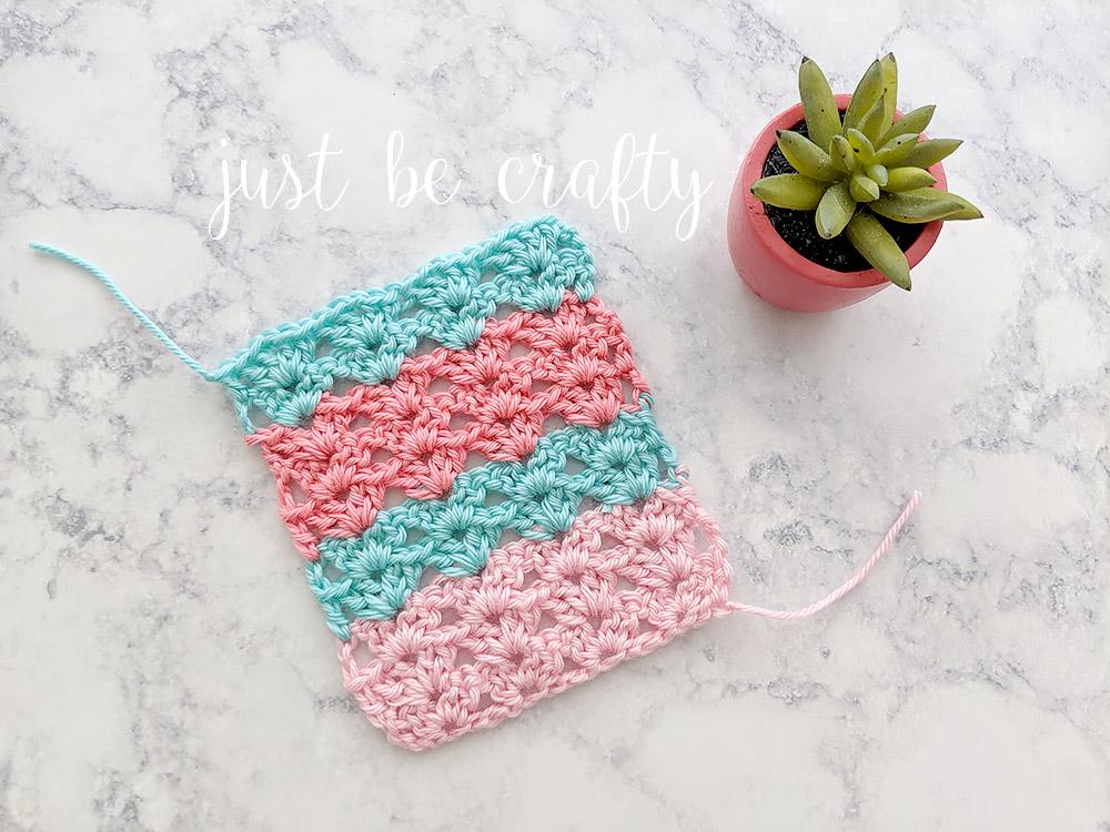 Crochet Iris Stitch Tutorial