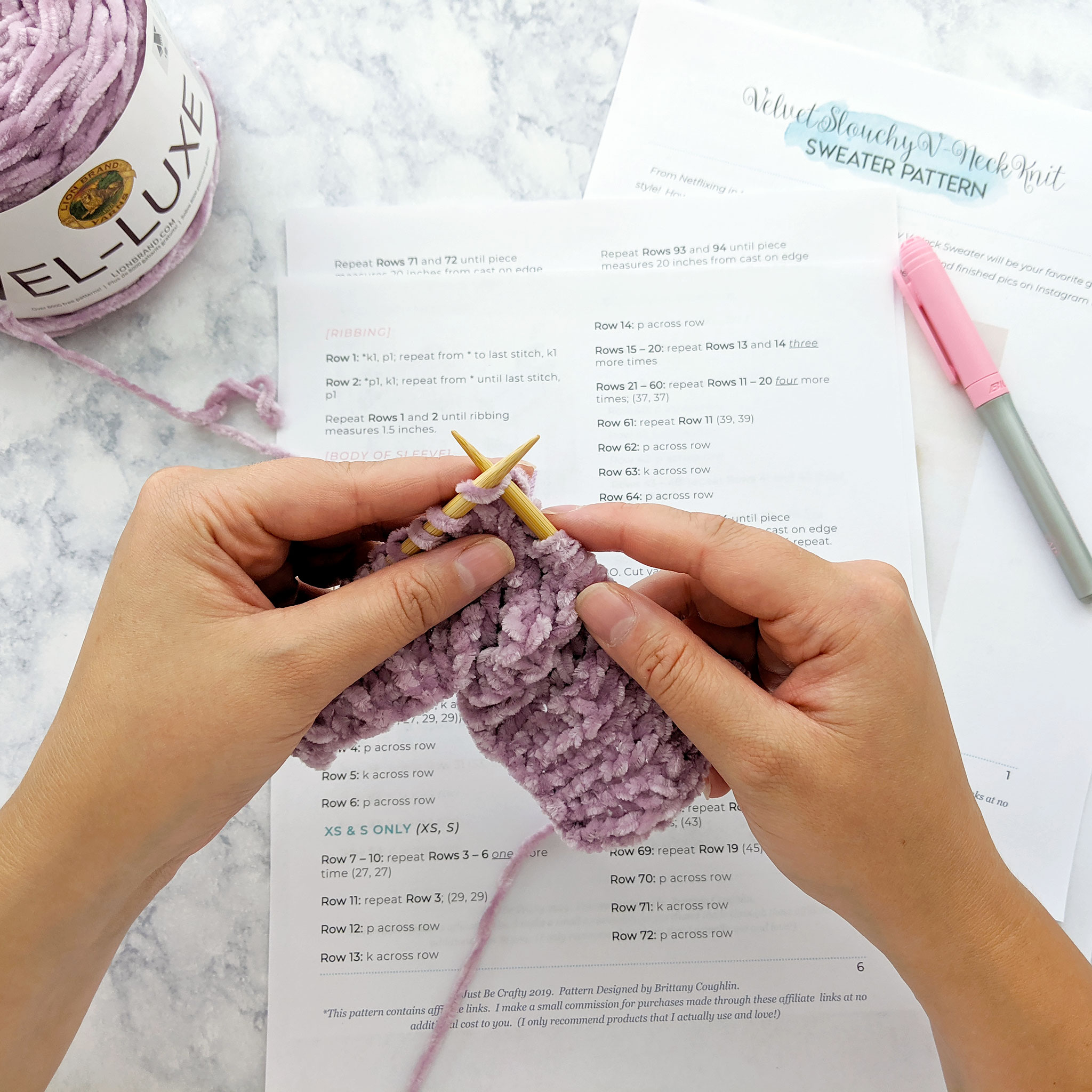 Just Be Crafty Pattern Tester