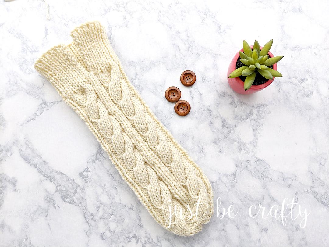 Wine Bottle Sweater - Free knit pattern by Just Be Crafty