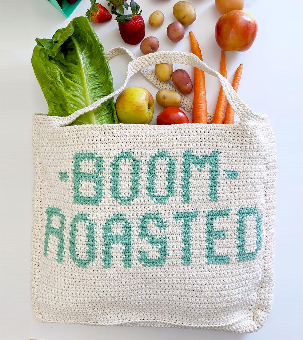 Boom Roasted Market Tote