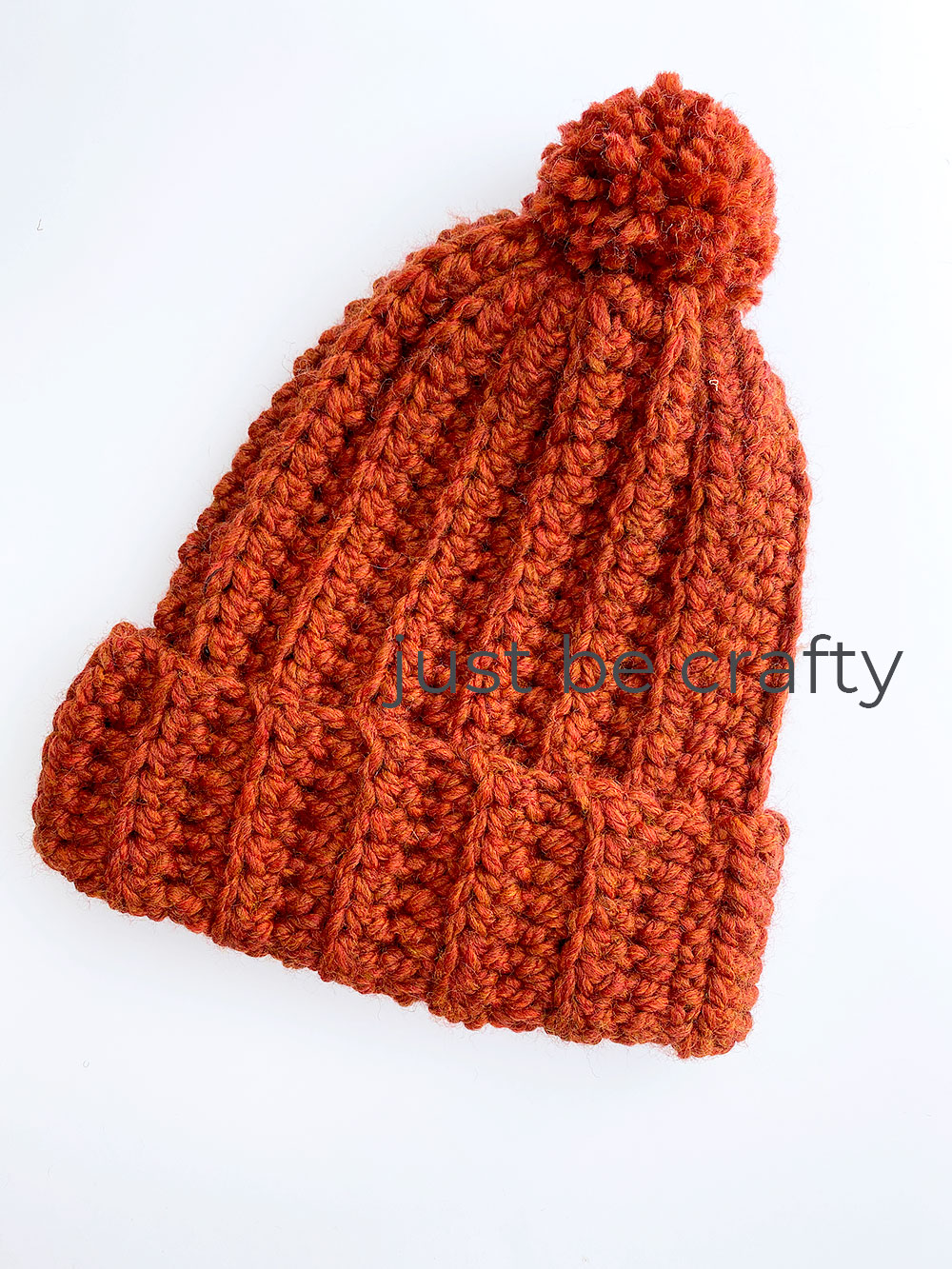 Crochet Chunky Hat Pattern