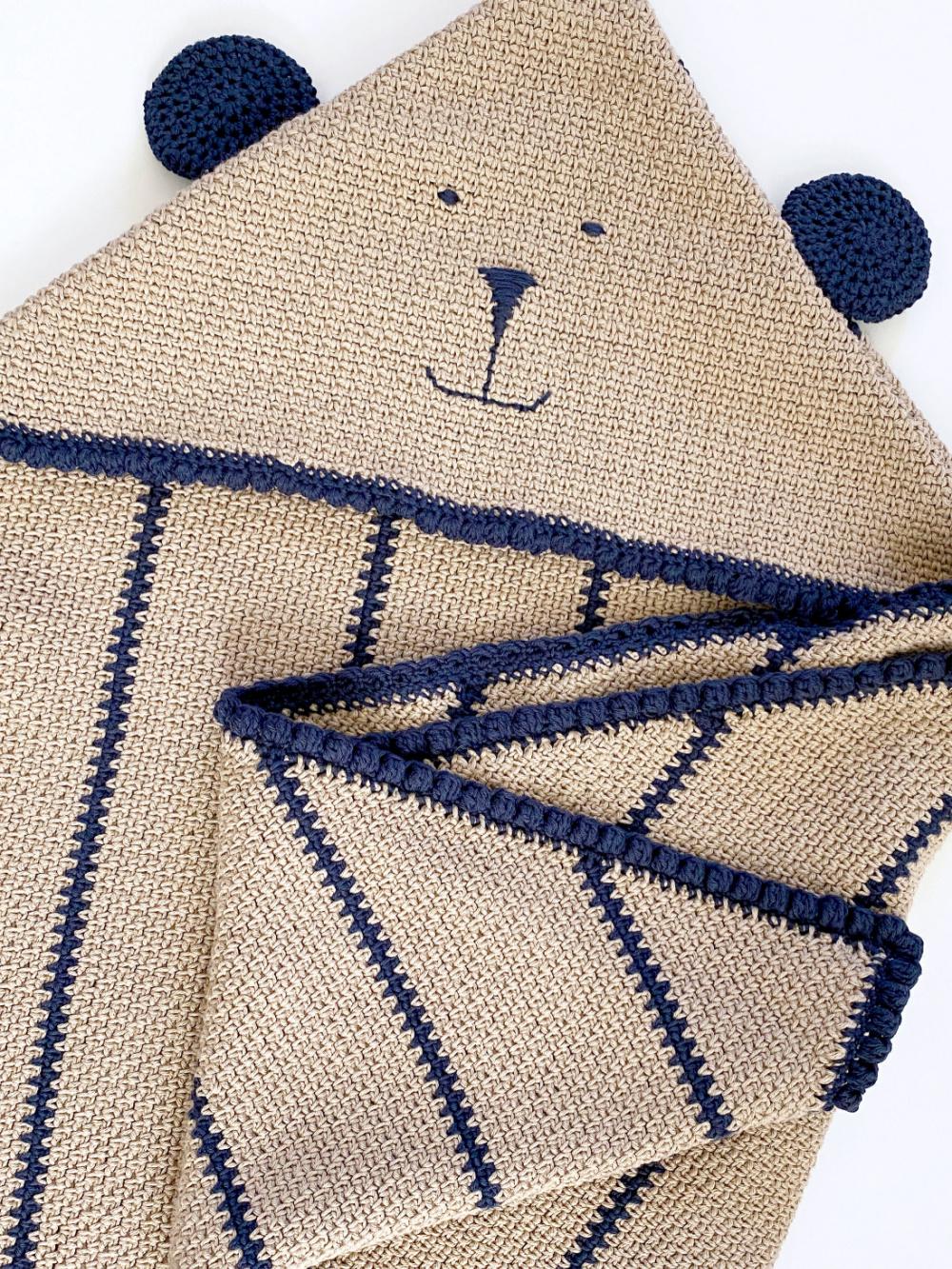 Cuddle Bear Hooded Lovey
