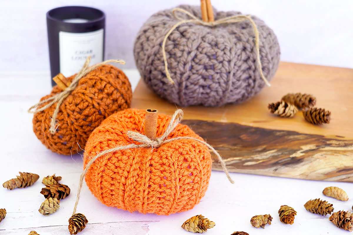 Crochet Pumpkin Pattern Tutorial