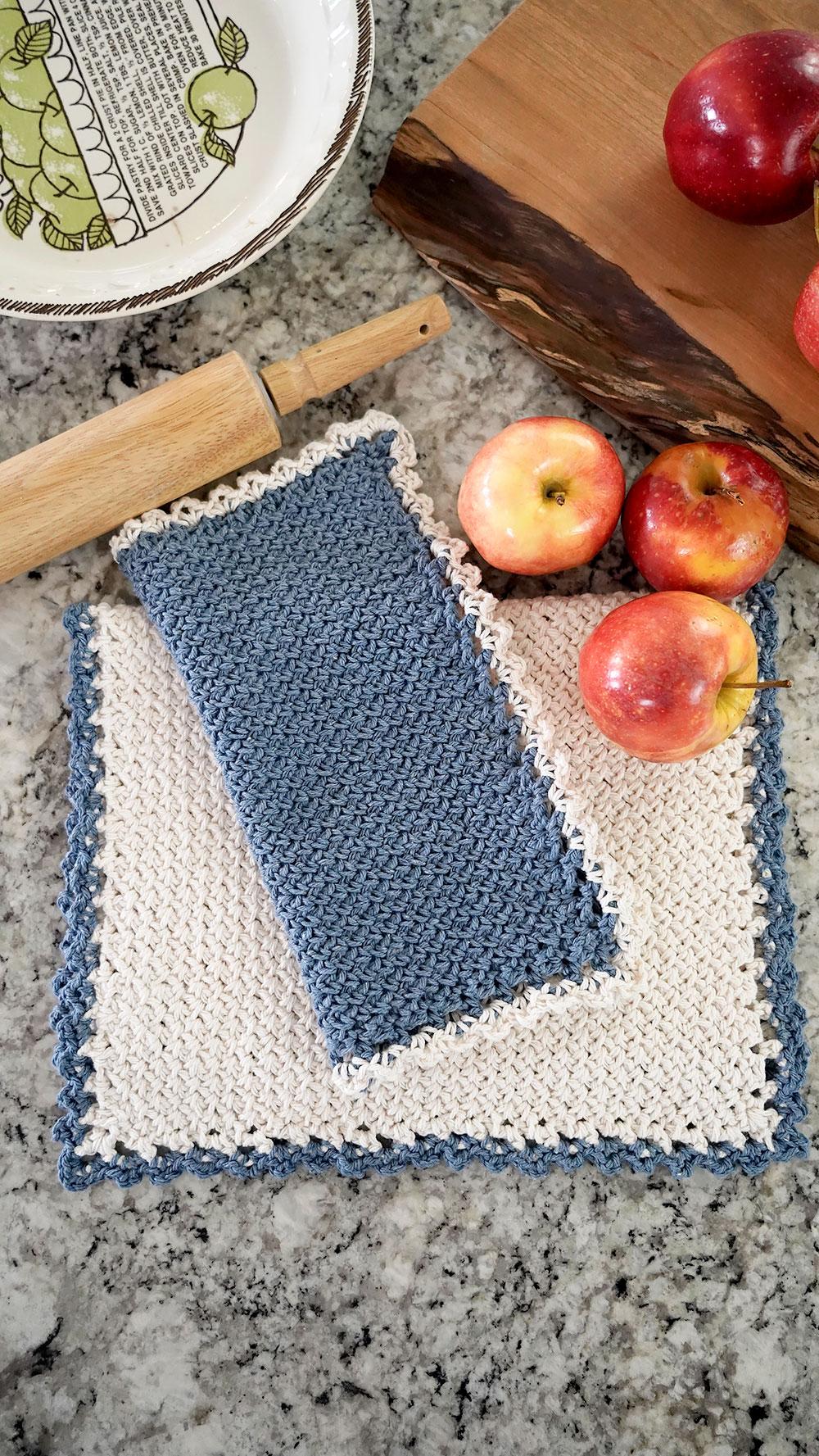 Farmhouse Tea Towel & Dishcloth