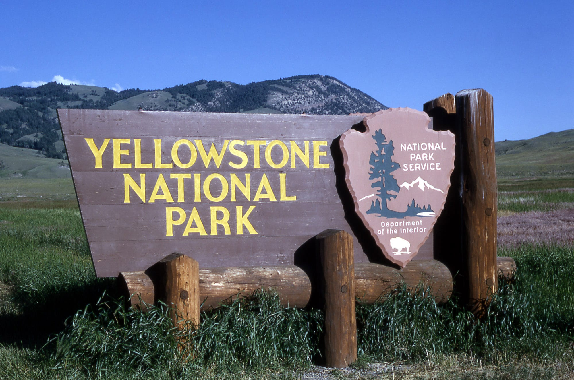 New Fire in Yellowstone