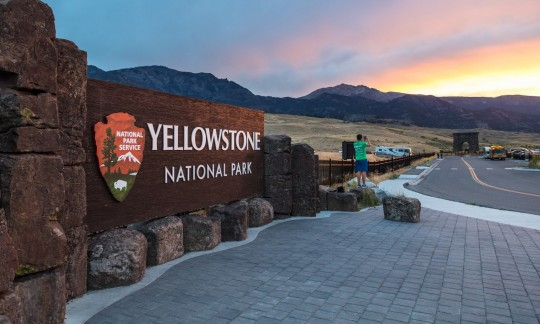 Weather Helps Yellowstone Firefighters