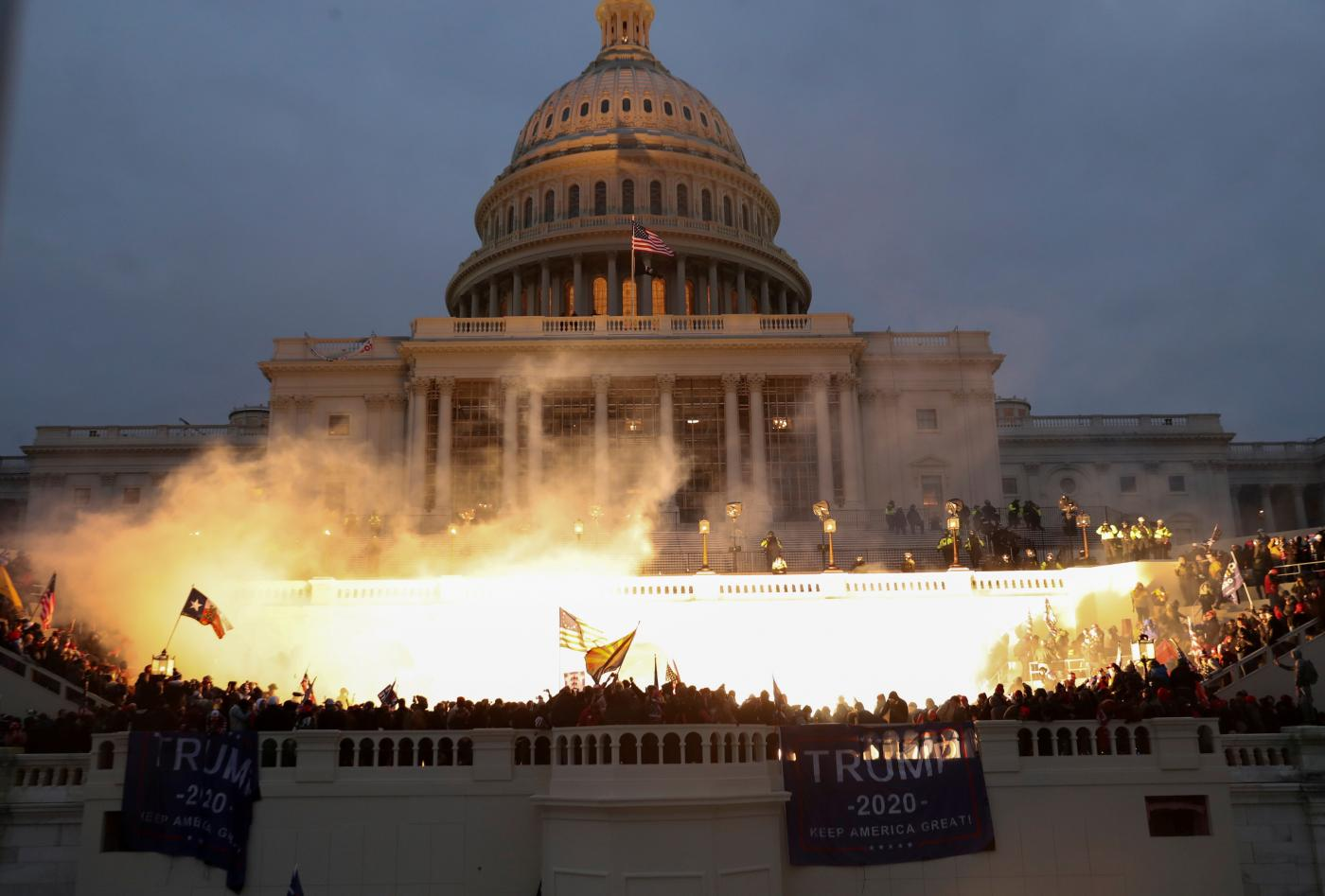 Capitol Building, January 6, 2021