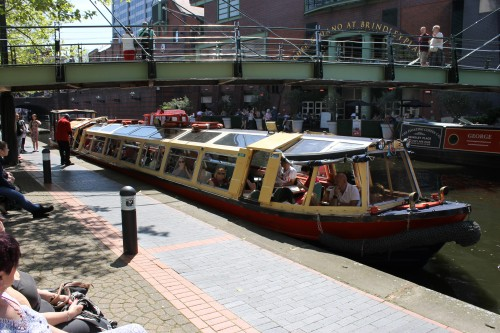 Euphrates Packet on the quayside at Brindley Place