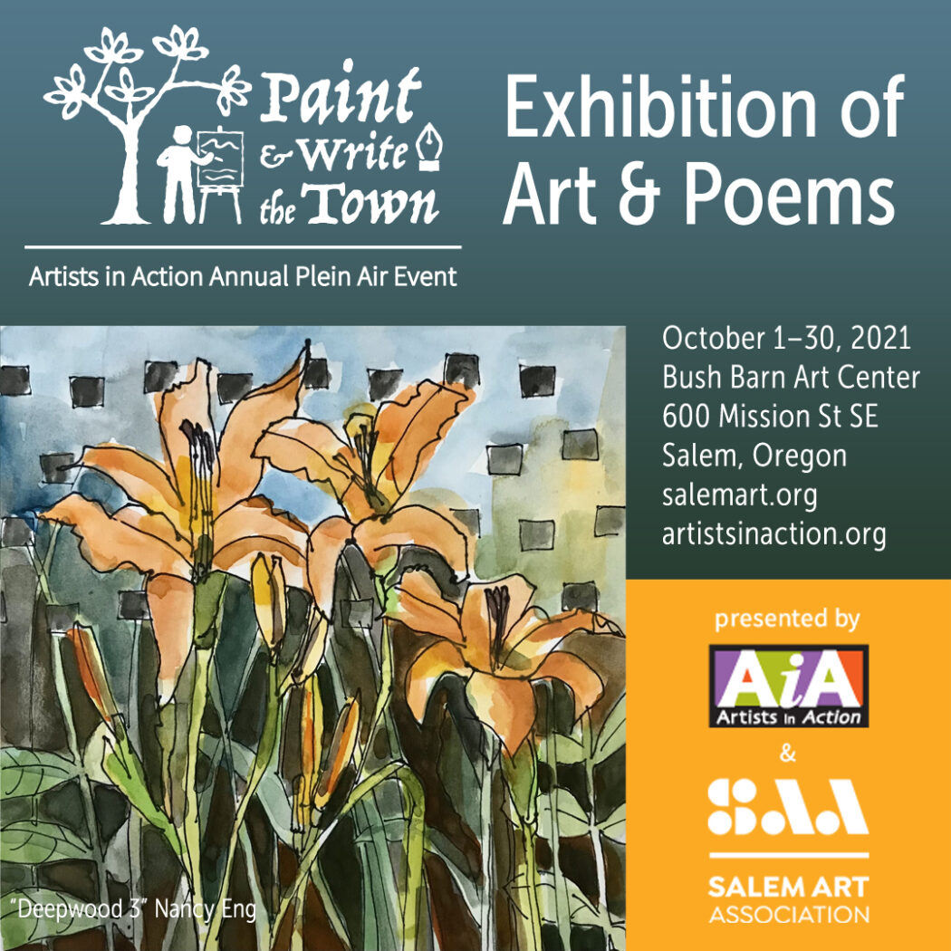 Paint & Write the Town Exhibition of Art & Poems