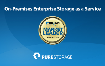 2019 Storage Leaders: On-Premises Enterprise Storage as a Service
