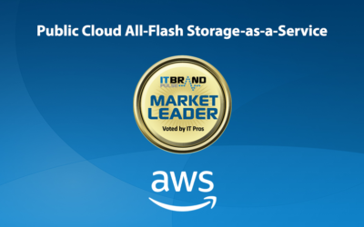 2019 Flash Leaders: Public Cloud All-Flash Storage-as-a-Service