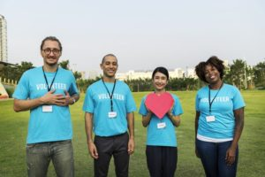 volunteers corporate social responsibility