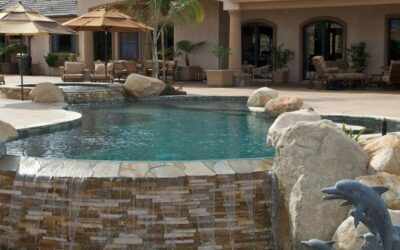 What are the steps involved with building a pool?