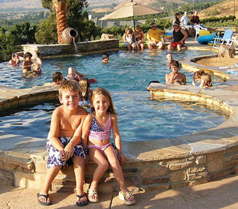 Are there health benefits to having my own pool vs. using a community pool?