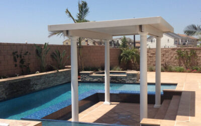 How can I create shade around my pool? (Non-Landscaping Options)