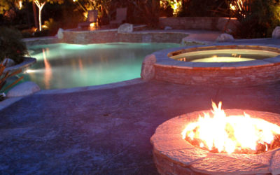 What types of fire pits or fireplaces can I put in my yard?