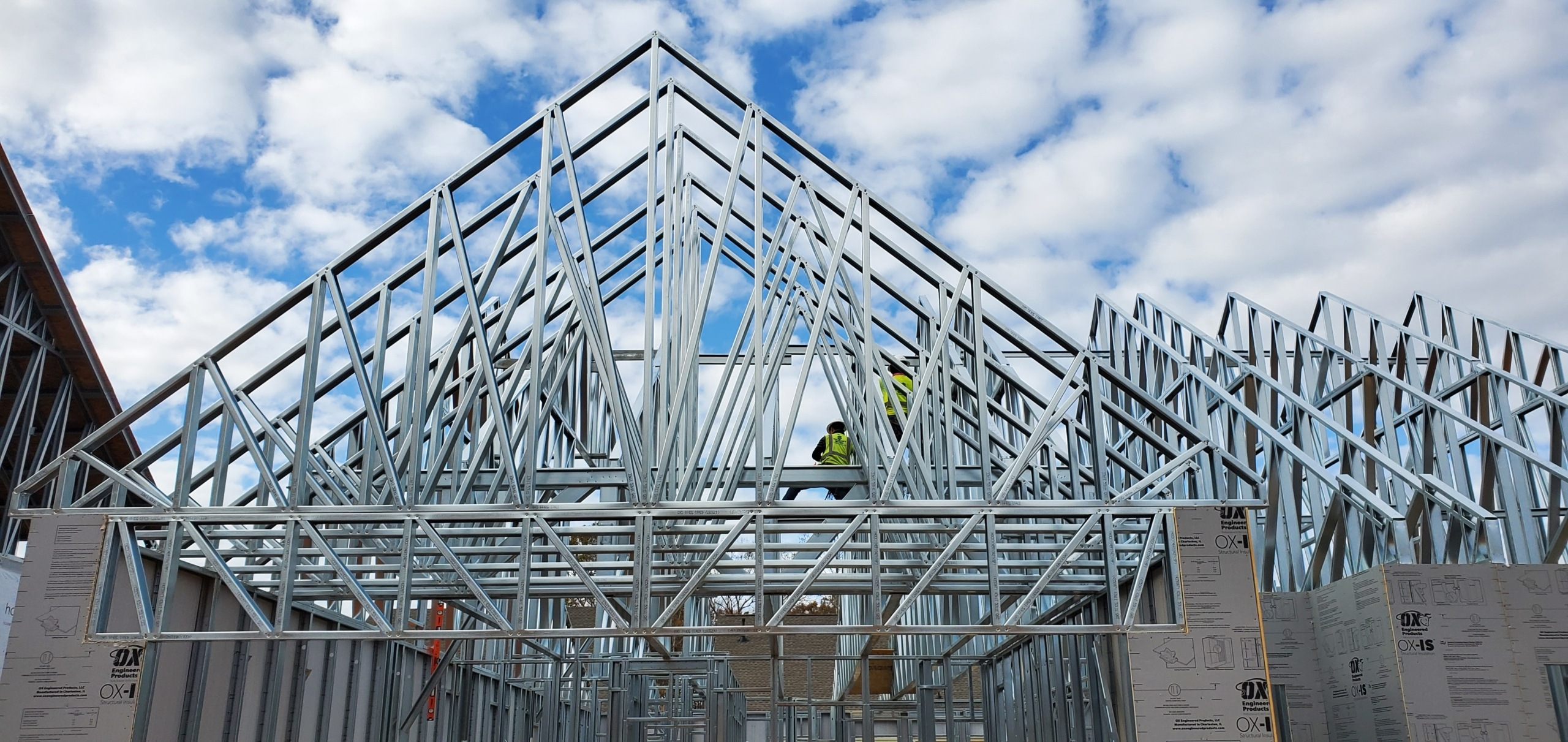 Money In the Bank: Credit Union's Switch from Wood to Cold-Formed Steel Trusses Saves $40,000