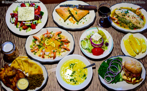 Just a few of our amazing dishes