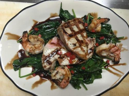 photo ofTuna and Shrimp Dinner Special