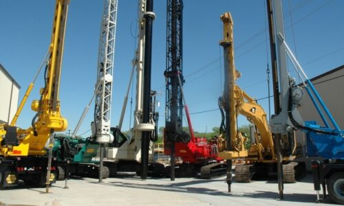AGC offers a variety of heavy-duty drilling equipment for large-scale construction projects