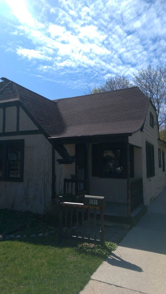 Exterior shot - driveway and front porch