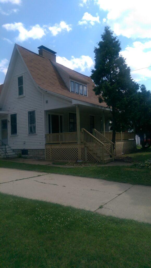 Exterior shot - front porch