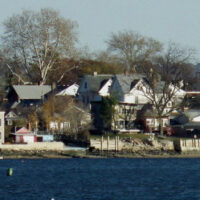 This an image of the City Island Shoreline