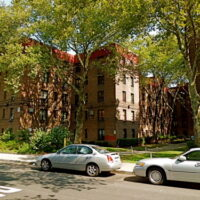 This is an image of Eastchester Hillside Houses NYCHA Development