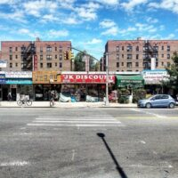 This is an image of Flushing Storefronts
