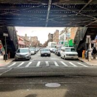 This is an image of Jackson Heights Under The El