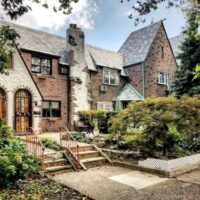 This is an image of Jackson Heights Tudor Style Houses