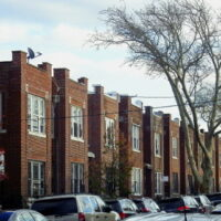 This is an image of Jackson Heights Brick Houses