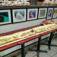This is an image of Morris Park's Ann Clairs Salumeria Big Sandwich