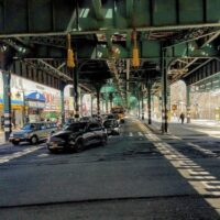 This is an image of Parkchester Under the El