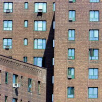 This is an image of Parkchester Apartment Buildings
